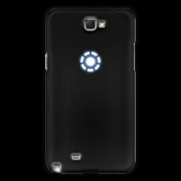 """Чехол для Samsung Galaxy Note 2 """"Железный человек"""" - marvel, символ, мстители, железный человек"""