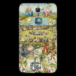 """Чехол для Samsung Galaxy Note 2 """"Сад земных наслаждений"""" - картина, сад, искусство, босх"""