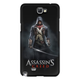 "Чехол для Samsung Galaxy Note 2 ""Assassins Creed (Unity Arno)"" - игра, assassins creed, воин, unity arno, арно"