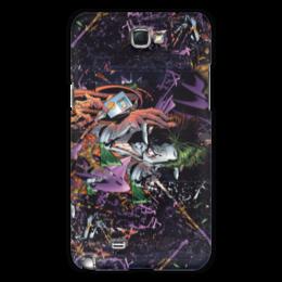 """Чехол для Samsung Galaxy Note 2 """"Swaga Joker"""" - арт, прикольные, оригинально, креативно"""
