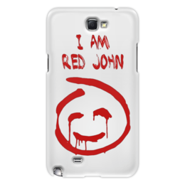 "Чехол для Samsung Galaxy Note 2 ""Смайлик Red John (The Mentalist)"" - смайлик, red john, красный джон, менталист, кровавый джон"