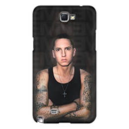 "Чехол для Samsung Galaxy Note 2 ""Eminem Body"" - eminem, эминем, slim shady, слим шейди"