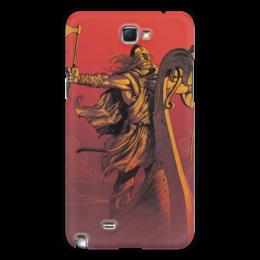 """Чехол для Samsung Galaxy Note 2 """"Варяги"""" - воин, русь, викинги, путь воина, варяги"""