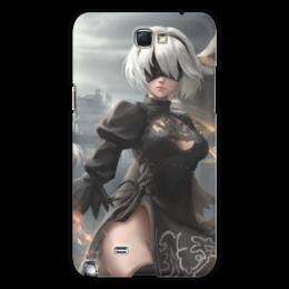 "Чехол для Samsung Galaxy Note 2 ""2B Nier Automata"" - девушка, sexy, nier, 2b"