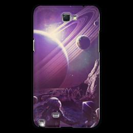 "Чехол для Samsung Galaxy Note 2 ""Космос 2100"" - space, планета, космос, cosmos, космонавт"
