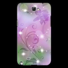 "Чехол для Samsung Galaxy Note 2 ""Лилия"" - цветок, лилия"