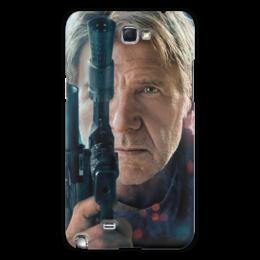 """Чехол для Samsung Galaxy Note 2 """"Звездные войны - Хан Соло"""" - кино, фантастика, star wars, звездные войны, дарт вейдер"""