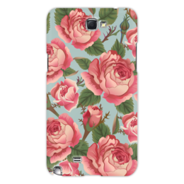 "Чехол для Samsung Galaxy Note 2 ""Розалия"" - розы, цветы"