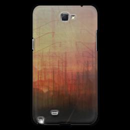 "Чехол для Samsung Galaxy Note 2 ""Railsea"" - арт, город, дизайн, креативно, путешествие, романтично, city, закат, sunset"
