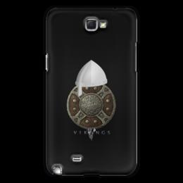 """Чехол для Samsung Galaxy Note 2 """"Викинги. Vikings"""" - воин, средневековье, оружие, викинг, рыцари"""