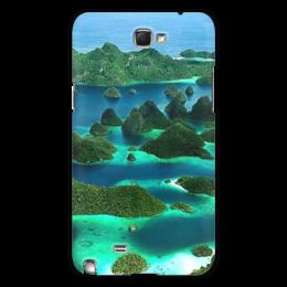 """Чехол для Samsung Galaxy Note 2 """"Море"""" - в подарок"""
