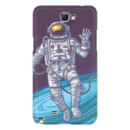 "Чехол для Samsung Galaxy Note 2 ""Space"" - космос, вселенная, наука, астрономия, the spaceway"