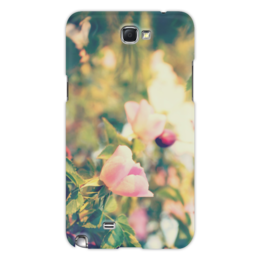 """Чехол для Samsung Galaxy Note 2 """"Rosa Retro Note"""" - цветы, ретро, в подарок, девушке, природа, розы"""