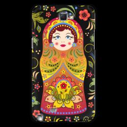"""Чехол для Samsung Galaxy Note 2 """"Матрёшка"""" - матрёшка"""
