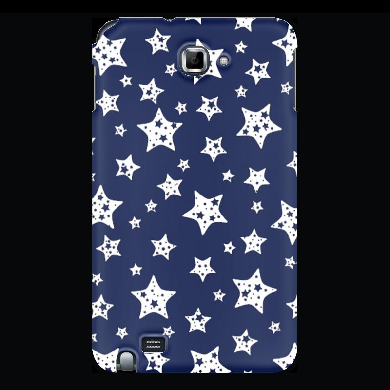 где купить Чехол для Samsung Galaxy Note Printio Звёзды дешево
