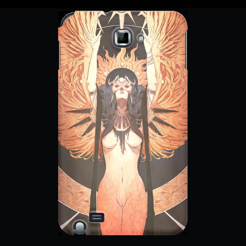 Чехол для Samsung Galaxy Note Printio Ангел ночи джиган – дни и ночи cd