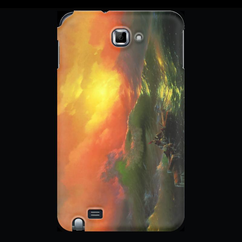 Чехол для Samsung Galaxy Note Printio Девятый вал (картина айвазовского) чехол для iphone 7 объёмная печать printio девятый вал картина айвазовского