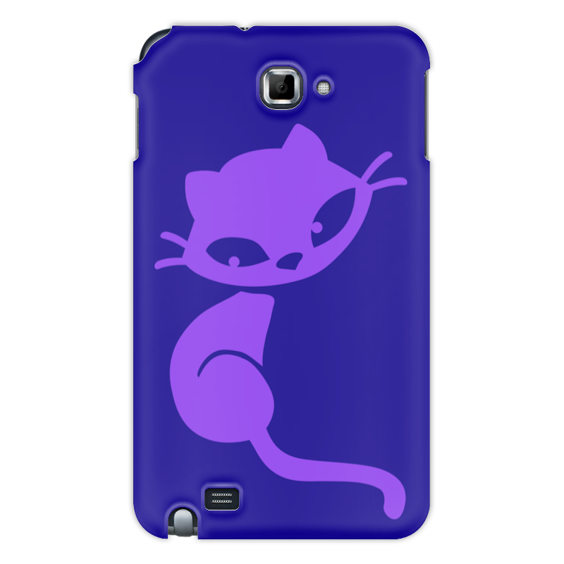 Чехол для Samsung Galaxy Note Printio Кошечка чехол для для мобильных телефонов rcd 4 samsung 4 for samsung galaxy note 4 iv