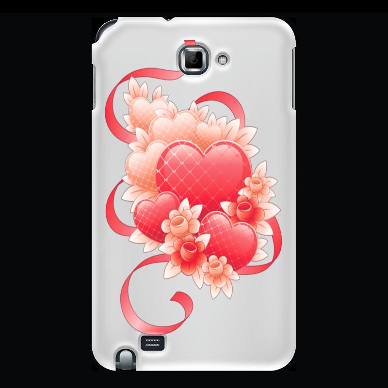 лучшая цена Чехол для Samsung Galaxy Note Printio Любимой на 14 февраля
