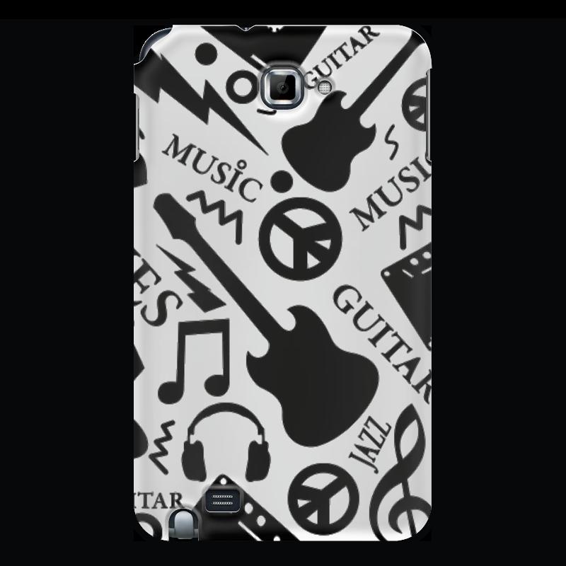 Чехол для Samsung Galaxy Note Printio Музыка