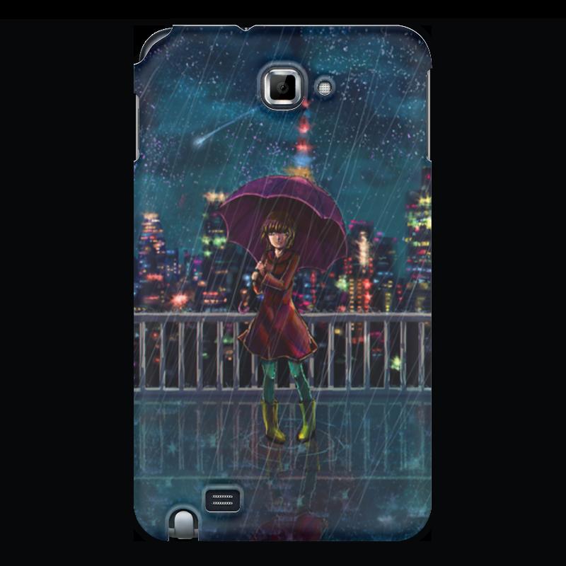 Чехол для Samsung Galaxy Note Printio Ночной дождь чехол для для мобильных телефонов rcd 4 samsung 4 for samsung galaxy note 4 iv