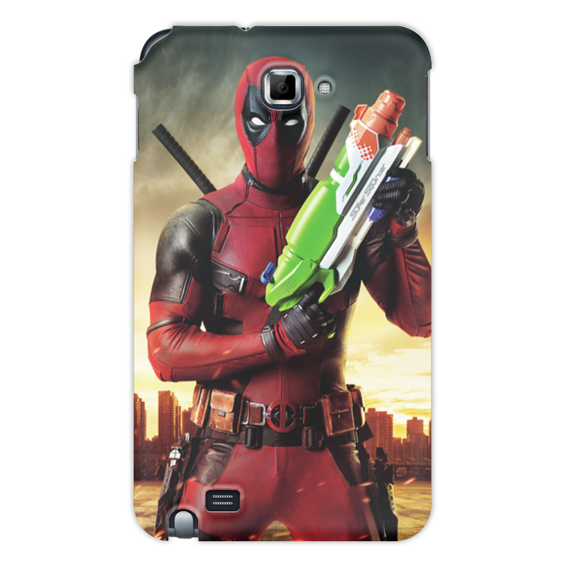 Фото - Чехол для Samsung Galaxy Note Printio Deadpool samsung galaxy tab e sm t561 black