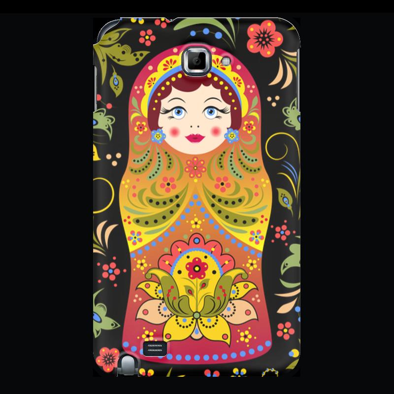 лучшая цена Чехол для Samsung Galaxy Note Printio Матрёшка