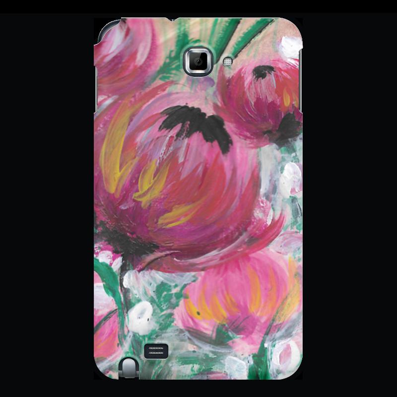 Чехол для Samsung Galaxy Note Printio Полевые цветы чехол для ноутбука 14 printio чехол чехол чехол луговые цветы