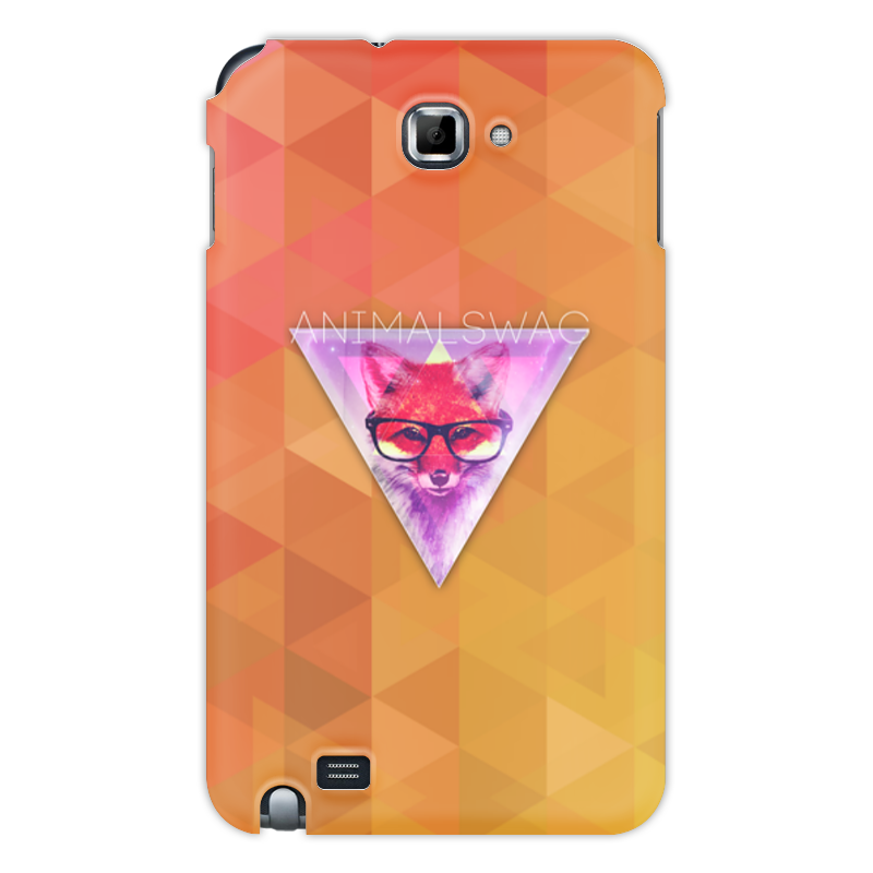 Чехол для Samsung Galaxy Note Printio animalswag ii collection: fox блокнот printio animalswag ii collection fox