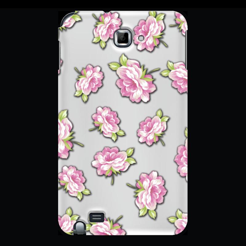 Чехол для Samsung Galaxy Note Printio Цветы чехол для для мобильных телефонов rcd 4 samsung 4 for samsung galaxy note 4 iv