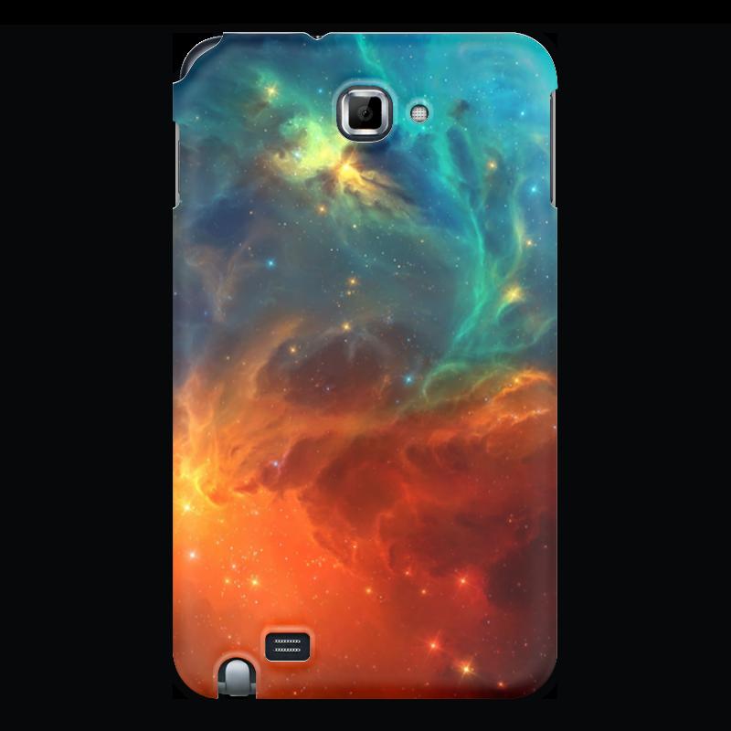 Чехол для Samsung Galaxy Note Printio Космическая туманность чехол для для мобильных телефонов rcd 4 samsung 4 for samsung galaxy note 4 iv