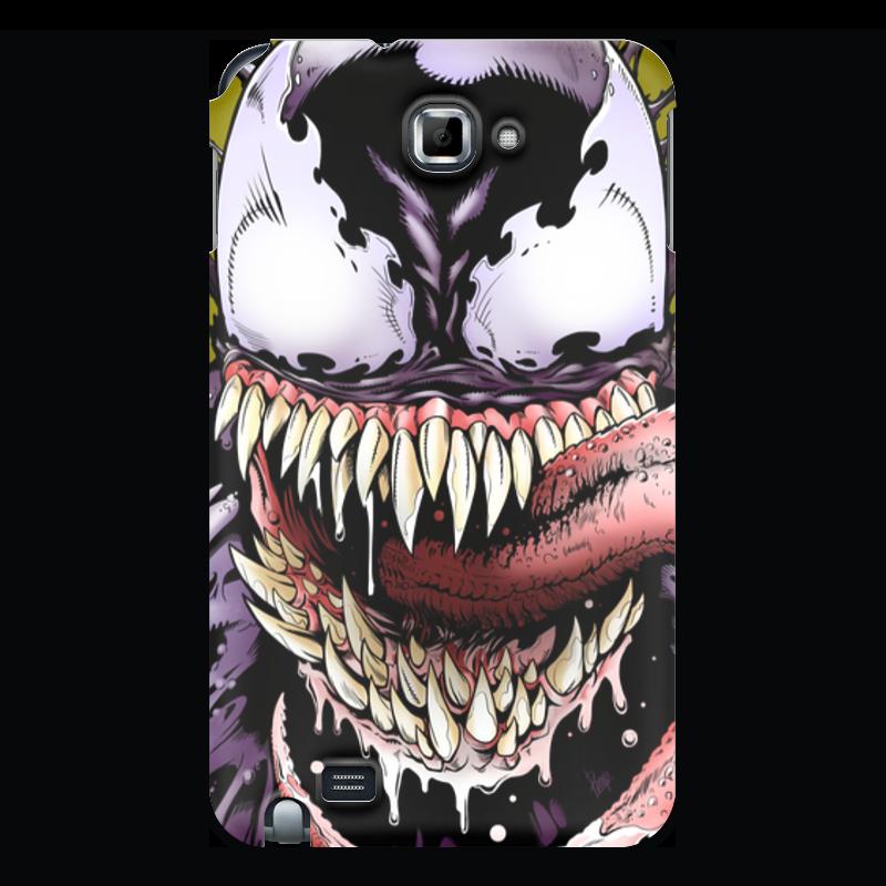 Чехол для Samsung Galaxy Note Printio Веном (venom) чехол для для мобильных телефонов rcd 4 samsung 4 for samsung galaxy note 4 iv