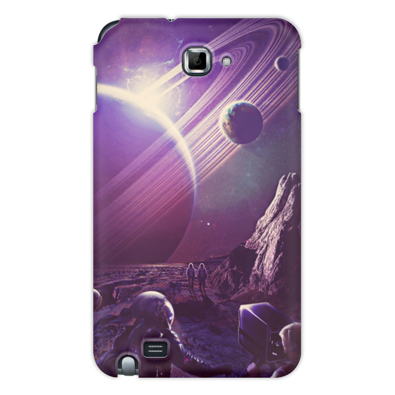 Чехол для Samsung Galaxy Note Printio Космос 2100 чехол для для мобильных телефонов rcd 4 samsung 4 for samsung galaxy note 4 iv