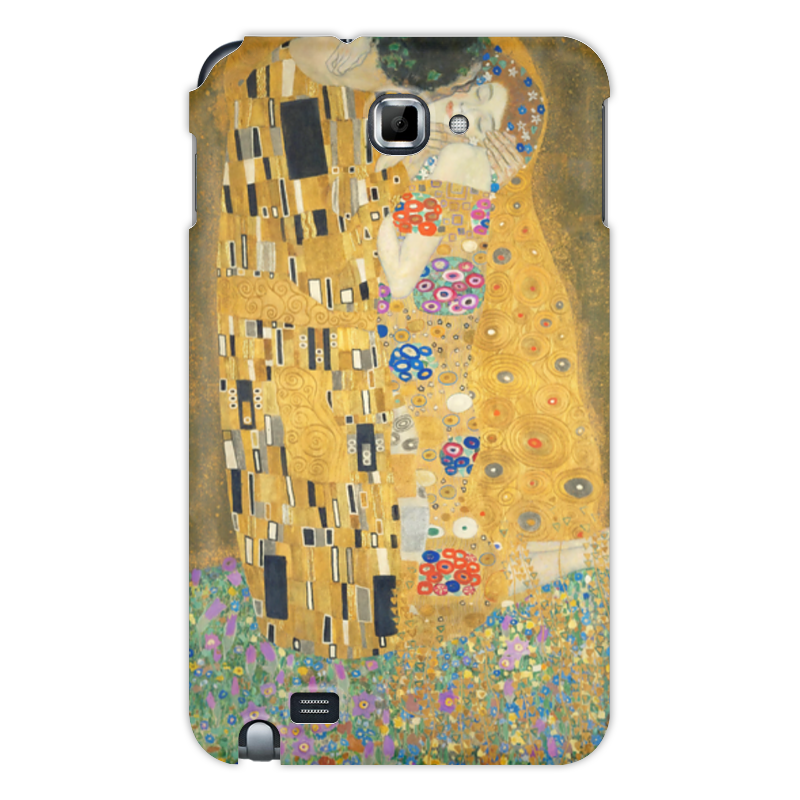 Чехол для Samsung Galaxy Note Printio Поцелуй часы поцелуй климта mitya veselkov часы поцелуй климта
