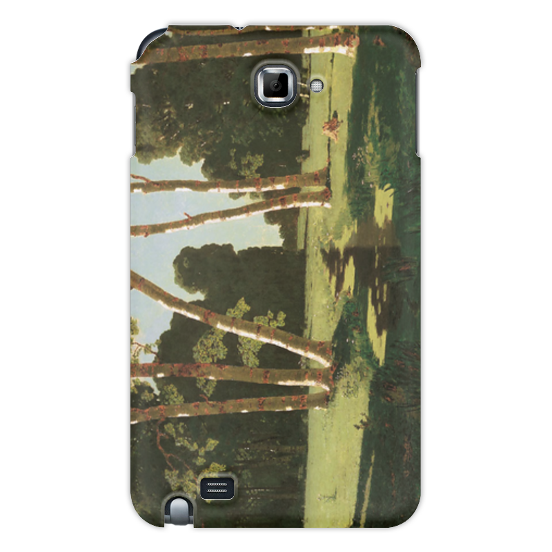 Чехол для Samsung Galaxy Note Printio Берёзовая роща (картина архипа куинджи) чехол для samsung galaxy s4 printio даниил в яме со львами картина рубенса