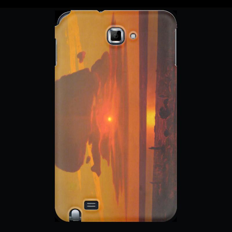 Чехол для Samsung Galaxy Note Printio Красный закат (картина архипа куинджи) чехол для blackberry z10 printio север картина архипа куинджи