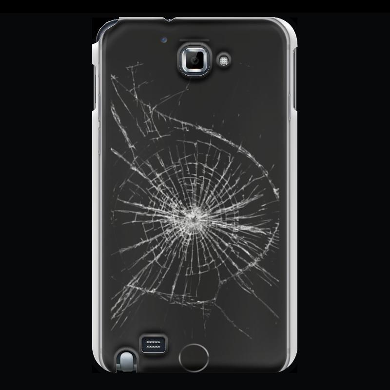 Чехол для Samsung Galaxy Note Printio Разбитый экран чехол для samsung galaxy note printio разбитый экран