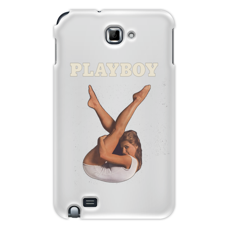 Чехол для Samsung Galaxy Note Printio Playboy девушка