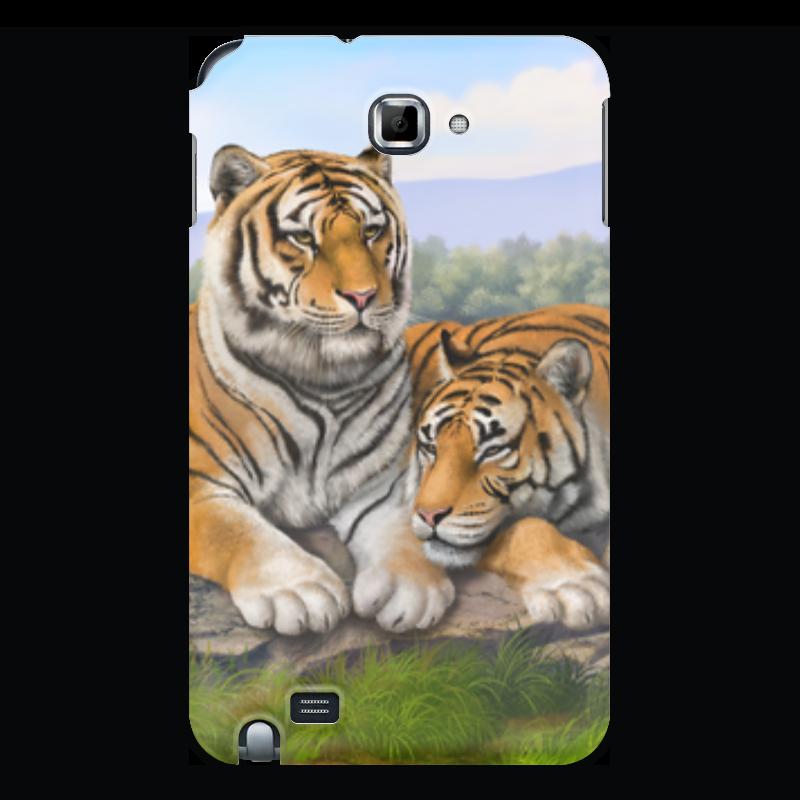 Чехол для Samsung Galaxy Note Printio Тигры чехол для ноутбука 12 printio тигры