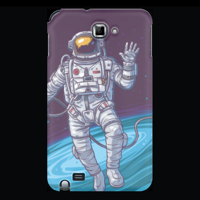 Чехол для Samsung Galaxy Note Printio Space чехол для samsung galaxy note printio space invaders