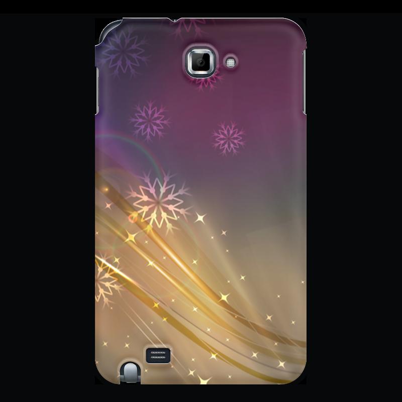 Чехол для Samsung Galaxy Note Printio Снежная фантазия