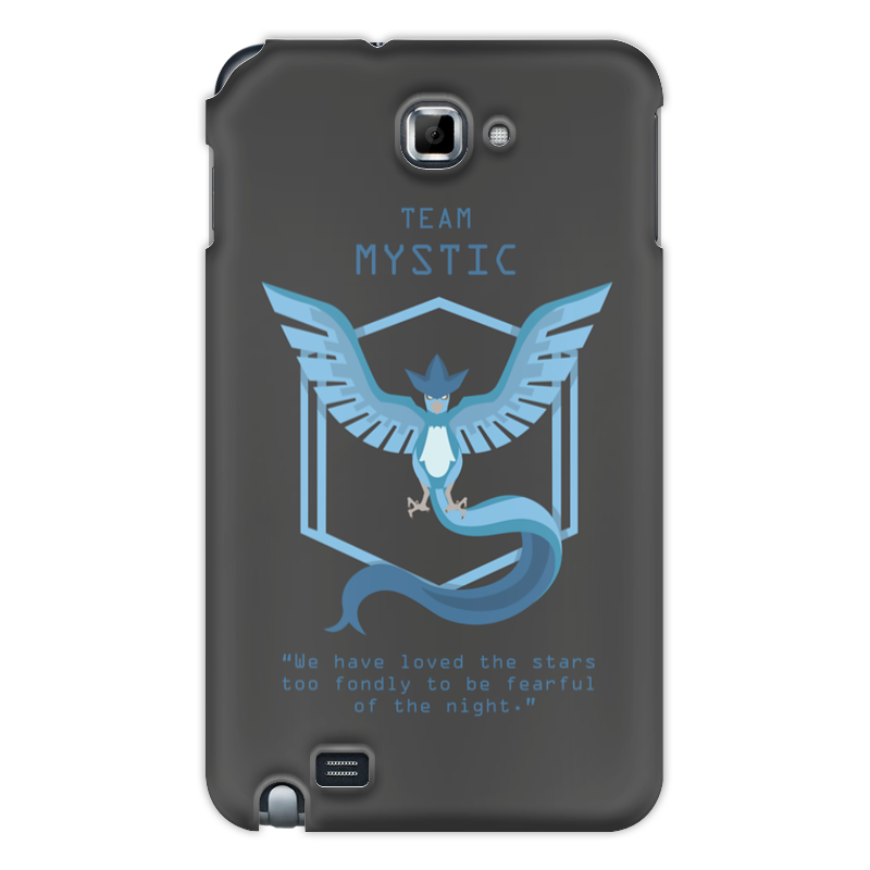 Чехол для Samsung Galaxy Note Printio Team mystic часы круглые из пластика printio pokemon go mystic team