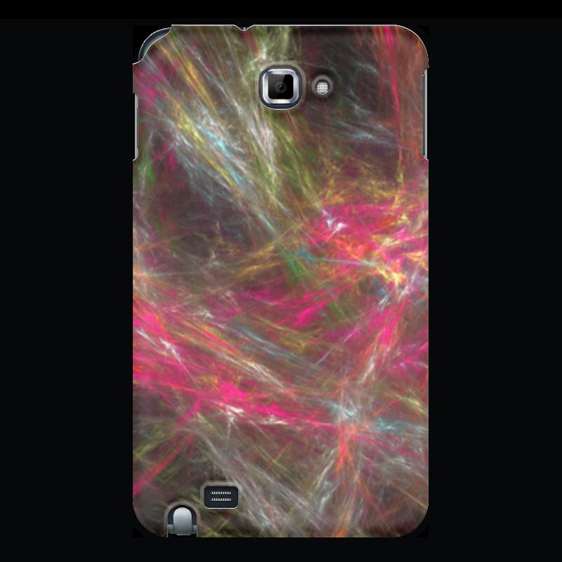 Чехол для Samsung Galaxy Note Printio Абстрактный дизайн розовый дизайн кожа pu откидная крышка бумажника карты держатель чехол для samsung galaxy g386
