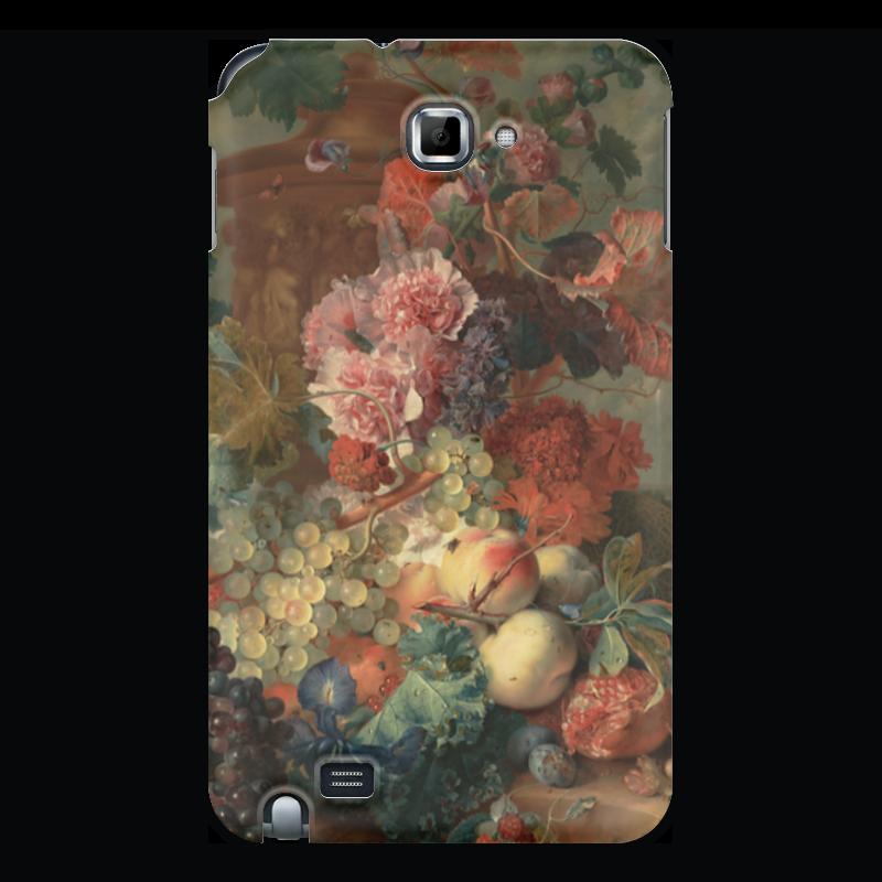 Чехол для Samsung Galaxy Note Printio Цветы (ян ван хёйсум) чехол для samsung galaxy note printio девушка с жемчужной серёжкой ян вермеер