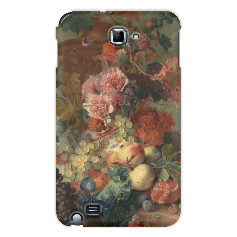 Чехол для Samsung Galaxy Note Printio Цветы (ян ван хёйсум) ян ван гойен альбом