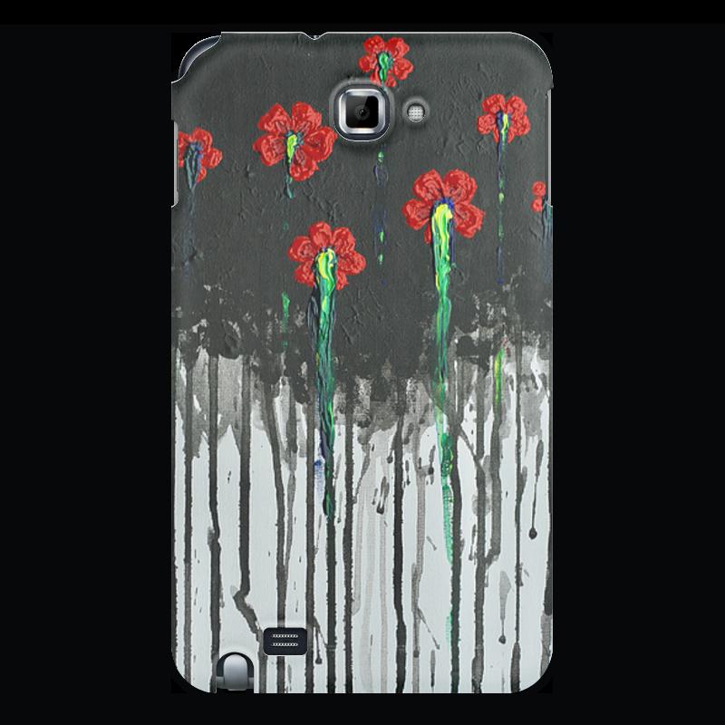 Чехол для Samsung Galaxy Note Printio Красные маки бомбер printio красные маки