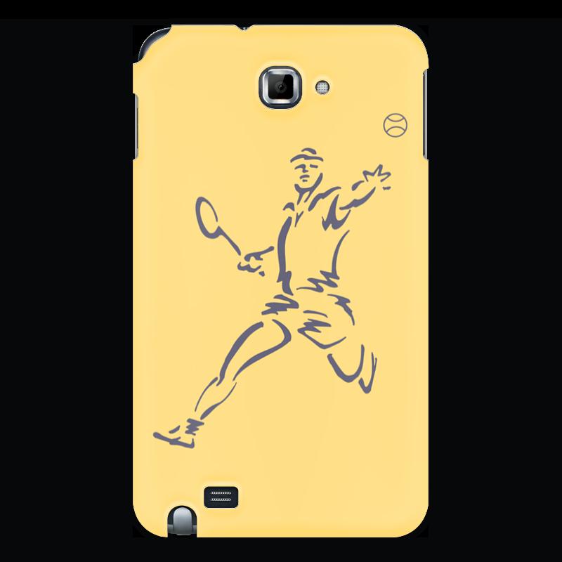 Чехол для Samsung Galaxy Note Printio Большой теннис