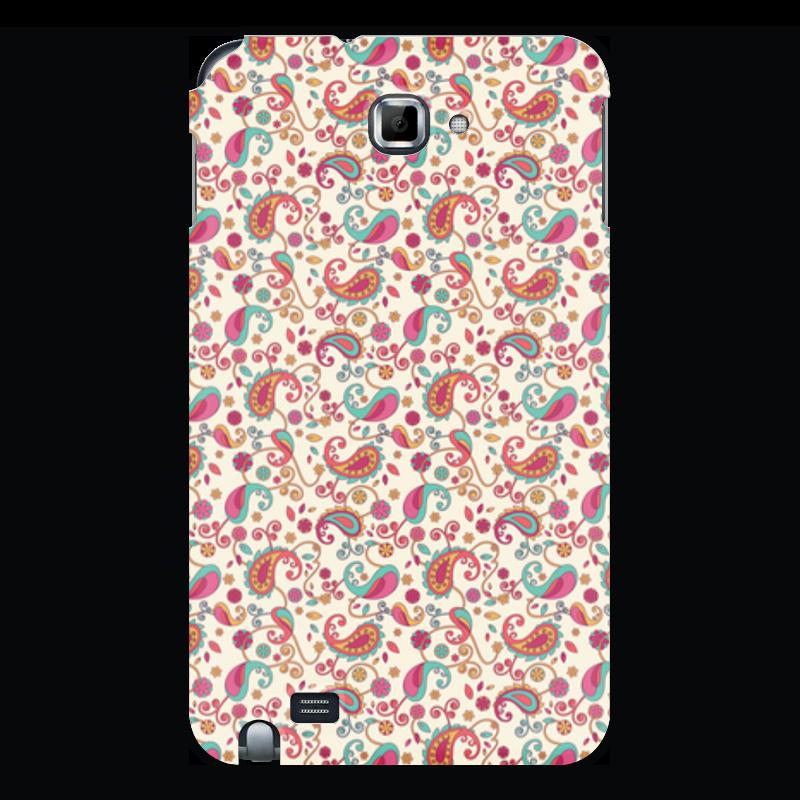 Чехол для Samsung Galaxy Note Printio Пейсли (яркий) чехол для для мобильных телефонов rcd 4 samsung 4 for samsung galaxy note 4 iv