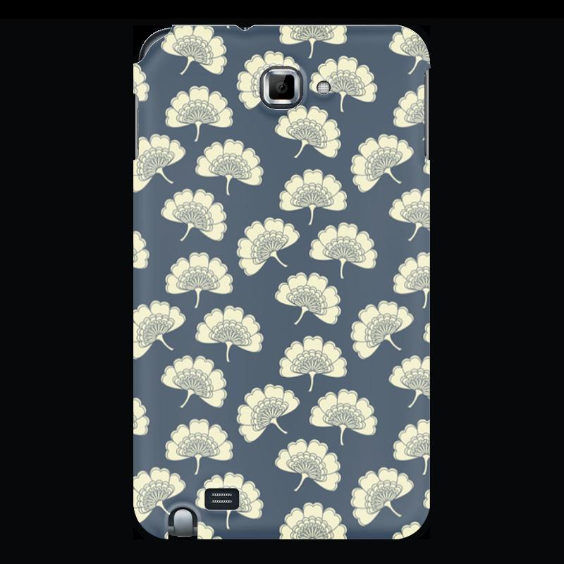 Чехол для Samsung Galaxy Note Printio Цветочный