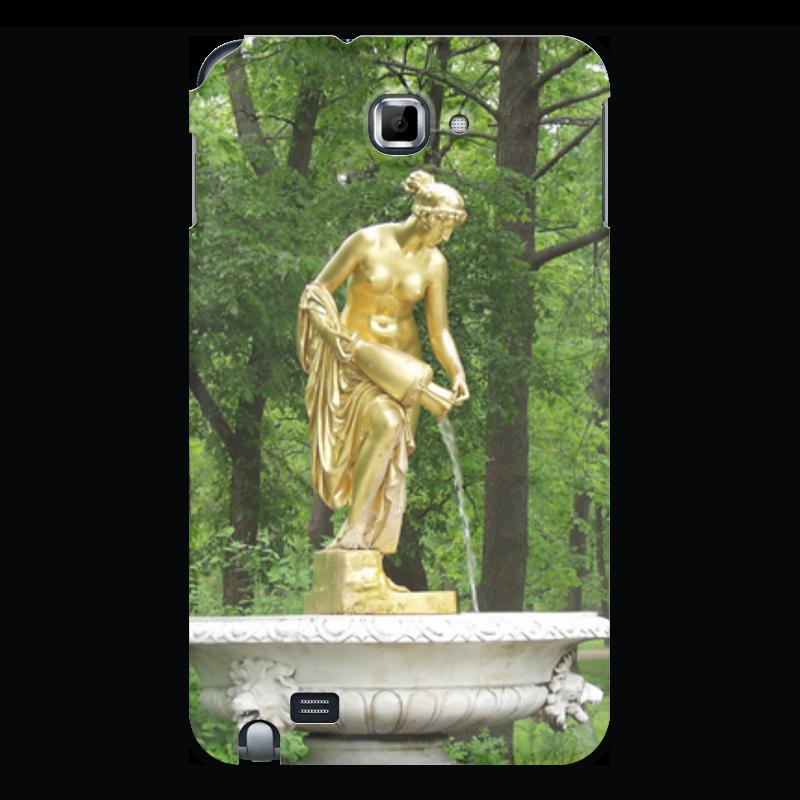 Чехол для Samsung Galaxy Note Printio Нимфа россия скульптура кремлевский солдат каслинское литьё